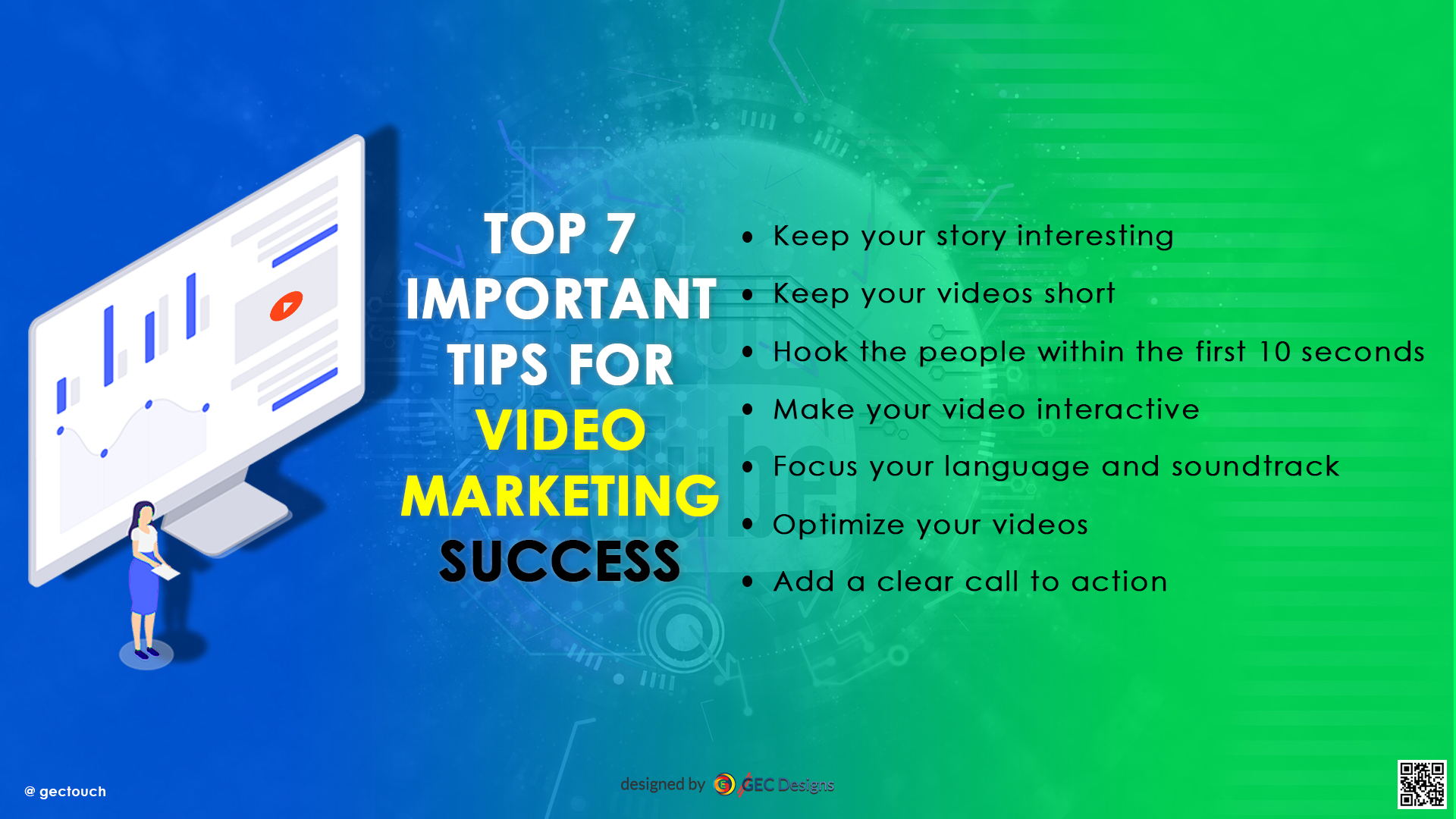 Video Marketing Tips Infographic